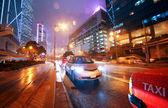 Trafic de nuit — Photo