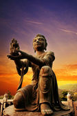 Buddhistic statue — Stock Photo