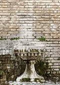 Abstract brick wall texture — Stock Photo
