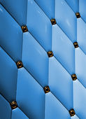 Picture of a blue tile background — Stock Photo