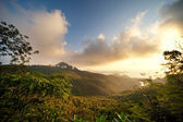 Beautiful scenic in mountains — Stock Photo