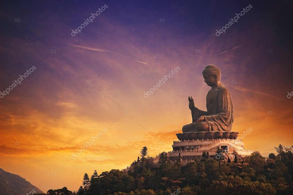 Tian Tan Buddha (Hong Kong, Lantau Island)  — Stock Photo #1420721