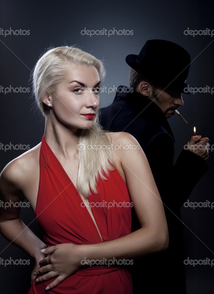 Attractive couple in love — Stock Photo #1422649
