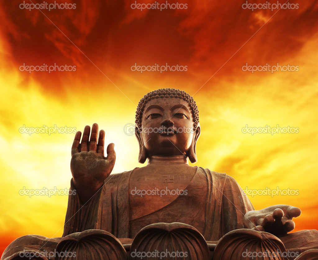 Statue of buddha  Foto Stock #1423254