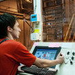Factory operator - Stock Photo