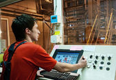 Factory operator — Stock Photo