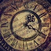 Staré starožitné hodiny — Stock fotografie