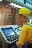 Factory operator — Stock Photo