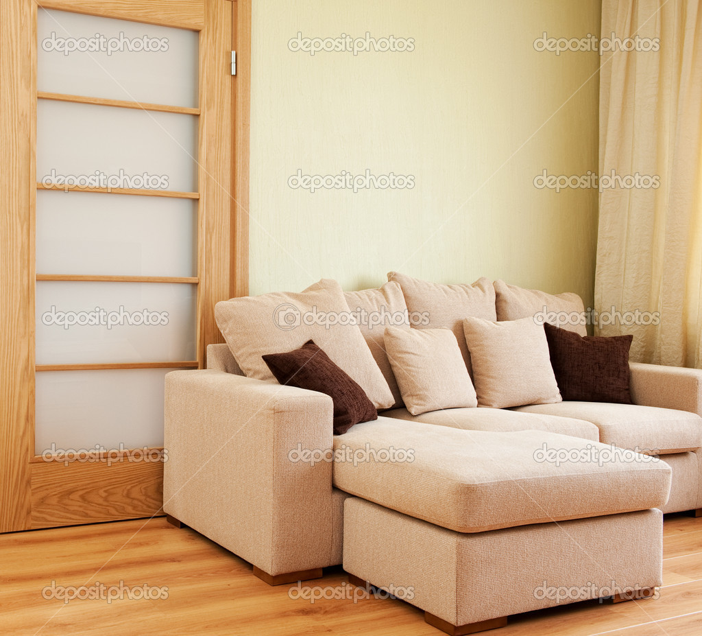 Modern living room interior  Stock Photo #1729859