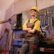 Royalty-Free Stock Photo: Female factory worker