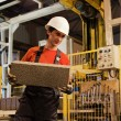 Factory loader at work — Stockfoto #1740644