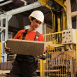 Stock Photo: Factory loader at work