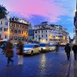 Rome, Italy (Piazza di Spagna) - Stock Photo