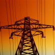 Electrical tower - Stock Photo