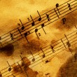 Royalty-Free Stock Photo: Grungy musical background