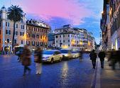 Rome, Italy (Piazza di Spagna) — Stock Photo