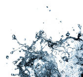 Stylish water splash — Stock Photo