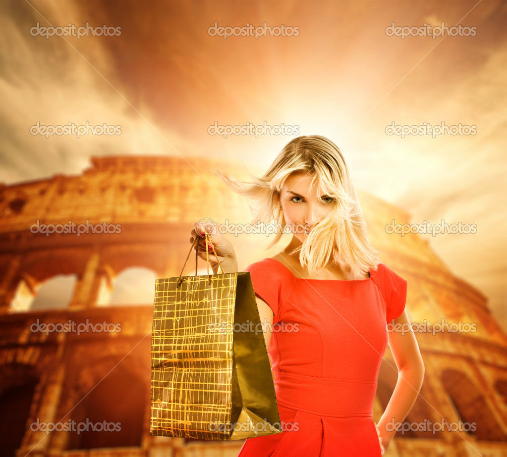 Shopping in Italy — Stockfoto #1741327
