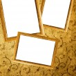 Picture frames on a wall — Stock Photo #2083044