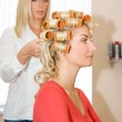 Young woman in beauty salon — Stock Photo