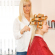 Young woman in beauty salon — Stock Photo #2084098
