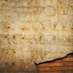 Roman letters texture — Stock Photo #2084560