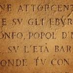 Latin letters texture — Stock Photo #2084616
