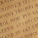 Roman letters texture — Stock Photo #2084760