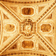 Decorated ceiling — Stock Photo