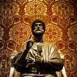 Statue of St. Peter in Vatican — Stock Photo