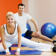 Fitness training — Stockfoto