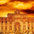 Trevi Fountain (Italy, Rome) - Stock Photo