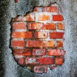 Stock Photo: Stylish brickwall texture