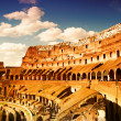 Colosseum (Rome, Italy) - Stock Photo