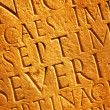 Royalty-Free Stock Photo: Roman letters texture