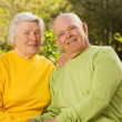 Senior couple in love — Stock Photo #2086489