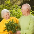 Senior couple in love — Stock Photo #2086557