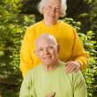 Stock Photo: Senior couple in love