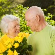 Senior couple in love - Stockfoto