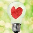 Environment friendly bulb — Stock Photo #2087941