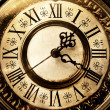 Foto Stock: Old antique clock