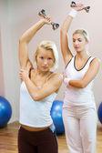 Fazendo exercício fitness — Foto Stock