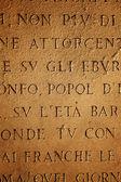 Latin letters texture — Stock Photo