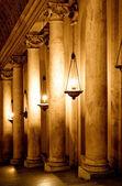 Row of columns (Italy, Vatican) — Stock Photo