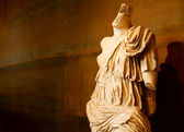 Ancient statue in Colosseum museum (Italy, Rome) — Stock Photo