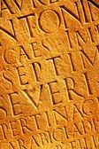 Romeinse letters textuur — Stockfoto