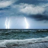Okyanus fırtına — Stok fotoğraf