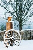 Winter scenic — Stock Photo