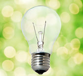 Environment friendly bulb — Stock Photo