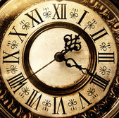 Antiguo reloj antiguo — Foto de Stock